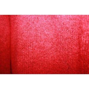 Zara Sweaters - Zara Red Mohair Knit Oversized Crewneck Sweater